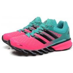 Кроссовки Adidas Springblade розовій/бирюза